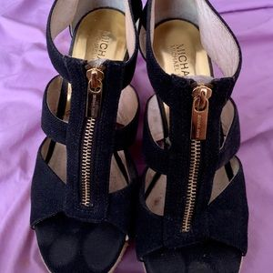 Authentic Michael Kors black heels